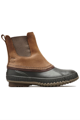 Sorel Cheyanne II Chelsea Boot | Men's | 1750251 | Umber | Buffalo | Side