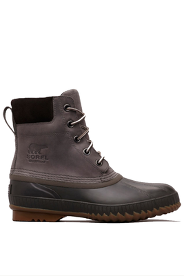 Sorel Cheyenne II Lace Duck Boot | Men's | 1750241 | Quarry | Buffalo | Side
