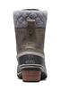 Sorel Slimpack II Lace Boot | Women's | 1702251 | Quarry | Black | Back