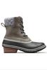 Sorel Slimpack II Lace Boot | Women's | 1702251 | Quarry | Black | Side