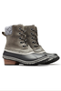 Sorel Slimpack II Lace Boot | Women's | 1702251 | Quarry | Black | Side Pair