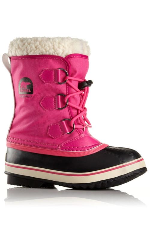 Sorel Yoot Pac Nylon Boot   Big Kids   1638021   Haute Pink   Side