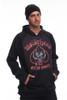 686 Motorhead Bonded Fleece Pullover |Men's | L8WCST0219 | Black | Full