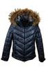 Fire + Ice Sassy-D Metallic Ski Jacket | Real Fur | Women's | Midnight