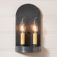 Irvin's Arch Sconce Finished In Country Tin