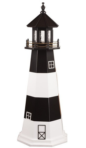 Amish Crafted Wood Garden Lighthouse   Fire Island