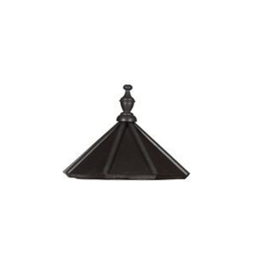Amish Made Poly Outdoor Lighthouse Replacement Roof - Shown As: 5 Foot, Roof Color: Black