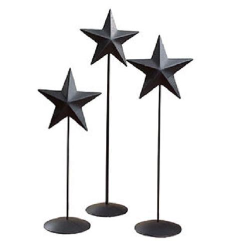 Black Barn Star Pedestal