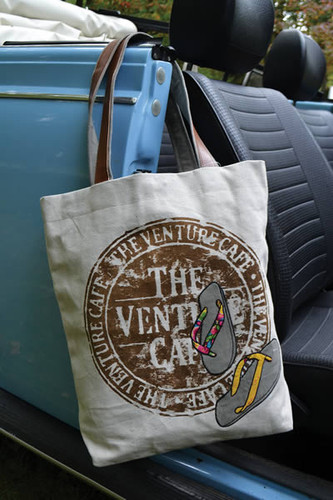 Venture Cafe Canvas Tote Bag