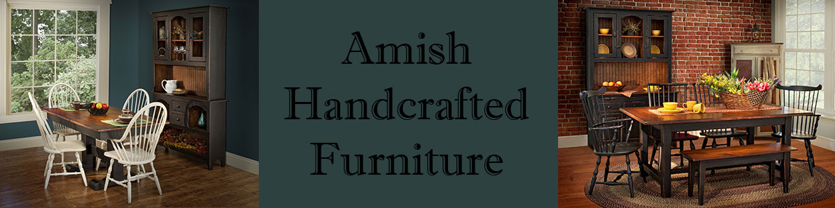 Primitive Pine Amish Handcrafted Furniture by Vintage Creations by Sam