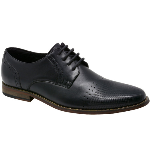 Double Diamond By Alpine Swiss Men's Genuine Leather Lace up Oxfords Dress Shoes