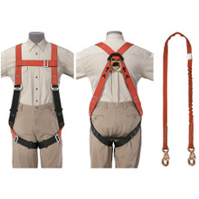 Klein Tools 87150 Tradesmans Fall Arrest Harness Set