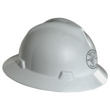 Klein Tools 60031 V-Gard® White Hard Hat with Lineman Logo