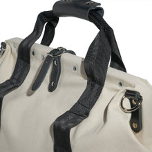 """Klein Tools 5003-18 18"""" Canvas Tool Bag with Leather Bottom"""