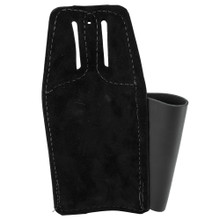 Klein Tools 5118C Black Leather Tool Pouch for Belts