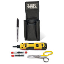 Klein Tools VDV027-813 LAN Installer Starter Kit- Punchdown