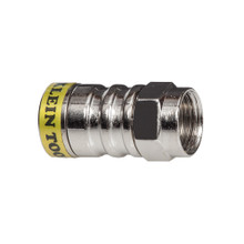 Klein Tools VDV812-627 Push-On F Connector RG6/6Q Pk 10