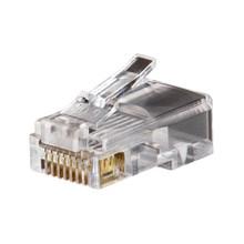 Klein Tools VDV826-628 Modular Data Plug, RJ45, CAT5e 10 Pk