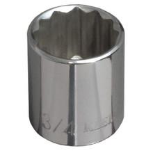 """Klein Tools 65704 5/8"""" Std 12-Point Socket - 3/8"""" Drive"""