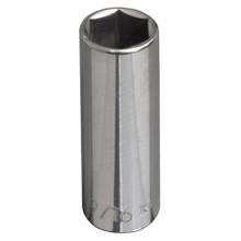 "Klein Tools 65716 3/4"" Deep 6-Point Socket - 3/8"" Drive"
