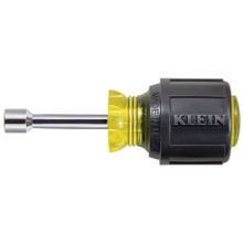 "Klein Tools 610-1/4 1/4"" Stubby Nut Driver 1-1/2"" Shaft"