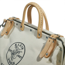 """Klein Tools 5102-14SP 14"""" Deluxe Canvas Tool Bag"""