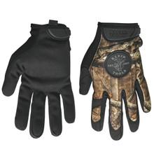 Klein Tools 40209 Journeyman Camouflage Gloves, size L