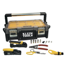 Klein Tools VDV001-833 VDV ProTech™ Data & Coaxial Kit