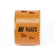 "Klein Tools 31948 Bi-Metal Hole Saw, 3"""