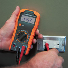 Klein Tools MM300 Digital Multimeter, Manual-Ranging, 600V