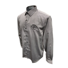 Klein Tools MBA00035-0 Mens Long Sleeve Shirt Gray, S