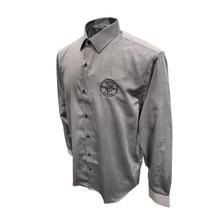 Klein Tools MBA00035-3 Mens Long Sleeve Shirt Gray, XL