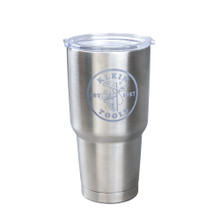 Klein Tools MBB00016 Insulated Tumbler, 30 oz., Lineman Logo