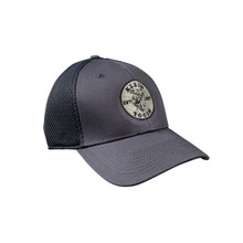 Klein Tools MBH00037-B New Era Fitted Mesh Cap Gray, S/M