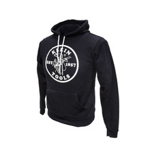 Klein Tools MBA00046-0 Hooded Sweatshirt Black, S