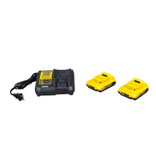 Klein Tools BAT207T23 Battery-Operated 7-Ton Cable Crimper Kit