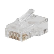 Klein Tools VDV826-763 Pass-Thru™ Modular Data Plug, CAT6, 200 Pk