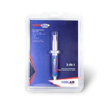 CoolAir 322 AC SmartSeal .20 oz Refill Cartridge 1/4 & 5/16 SAE Adapters Included