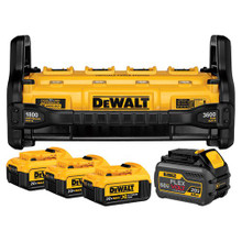 Dewalt DCB1800M3T1 1800 WATT PORTABLE POWER STATION AND SIMULTANEOUS BATTERY CHARGER KIT