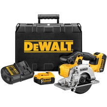 Dewalt DCS373P2  20V MAX* Lithium Ion Saw Kit