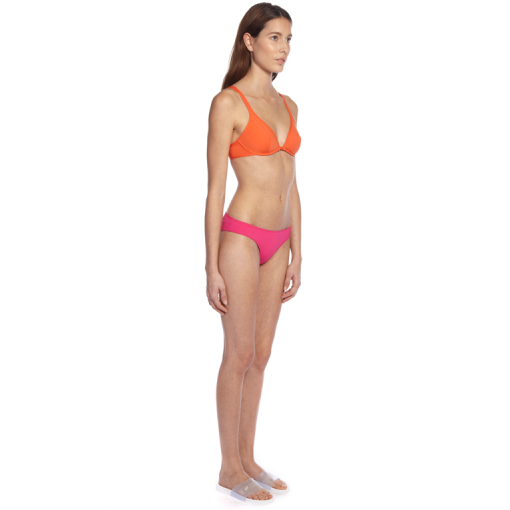CITRUS CLASSIC BRA WITH PASTEQUE CLASSIC PANT - SIDE