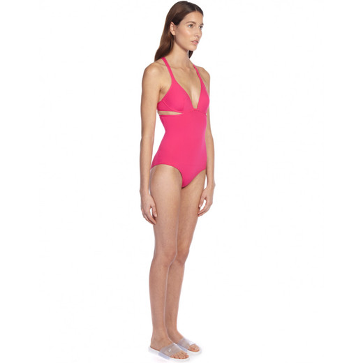 PASTEQUE TWIST BACK ONE PIECE - SIDE