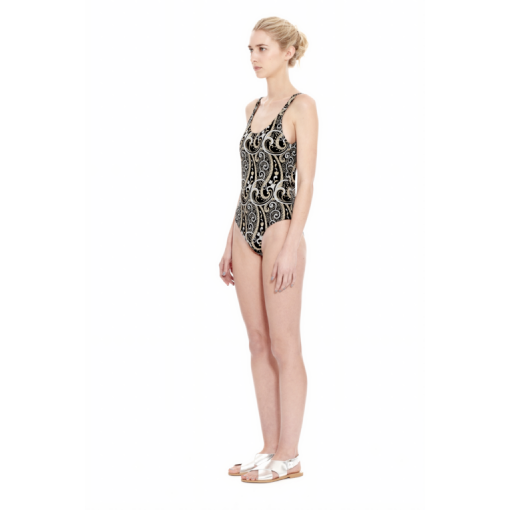 NARCISSUS TANK ONE PIECE - SIDE