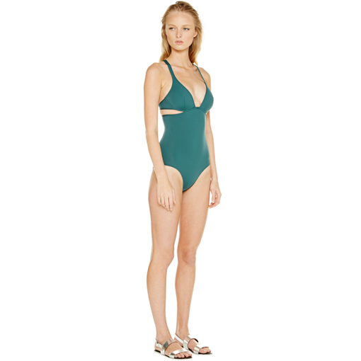 FORET TWIST BACK ONE PIECE - SIDE