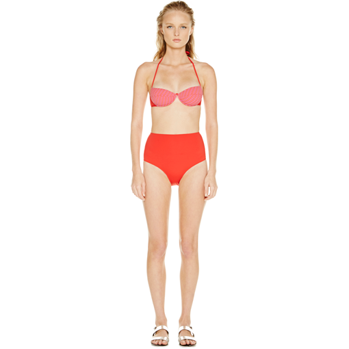 HYDRA UNDERWIRE BRA WITH ROUGE HIGH WAISTED PANT - FRONT