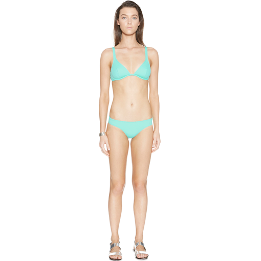 MENTHE CLASSIC BRA WITH MENTHE CLASSIC PANT - FRONT