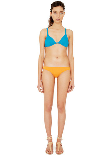 JADE CLASSIC BRA WITH WITH CLEMENTINE MINI PANT FRONT