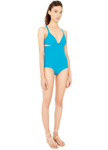 JADE TWIST BACK ONE PIECE SIDE