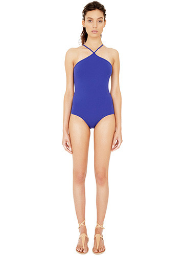 ATLANTIQUE HALTER ONE PIECE FRONT