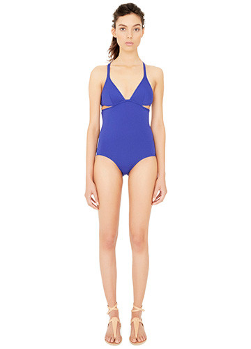 ATLANTIQUE TWIST BACK ONE PIECE FRONT